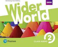 Wider World 2 Class CD (4) adv
