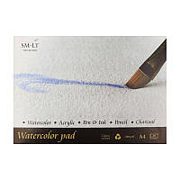 Альбом для акварели А3 SMILTAINIS Watercolor pad, 260кв.м, 20листов 25% хлопка 3AS-20(260)
