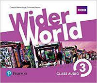 Wider World 3 Class CD's