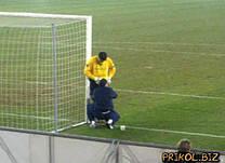 Сетка для футбольных ворот футбольная D.2,5 1,5м. глубина Эконом 1.5