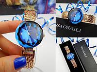 Женские наручные часы Baosaili, Баосейли, кварц, синие