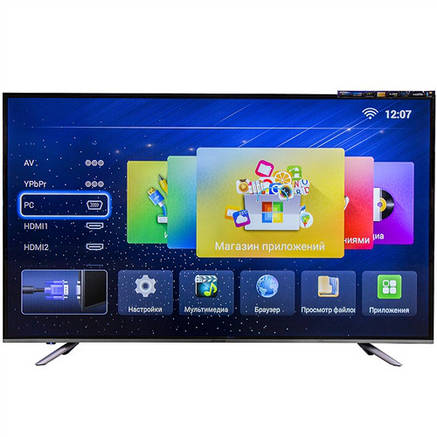 Телевизор LED backlight TV L32 Т2 Android SMART TV, фото 2