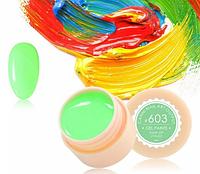 Гель-краска CANNI 603 зеленая мята