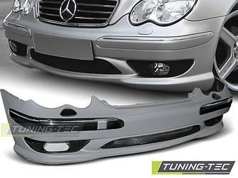 Передний бампер тюнинг обвес Mercedes W203 стиль AMG C32
