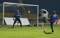 Сетка для футбольных ворот футбольная D.3,5 1,5м. глубина Стандарт 1.5