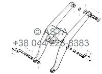 СТРЕЛА для погрузчика Chenggong - Z50E14T38