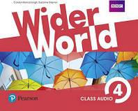 Wider World 4 Class CD's