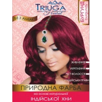Краска для волос Бургунд Triuga Herbal 25г