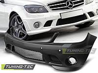 Передний бампер обвес Mercedes W204 в стиле AMG C63