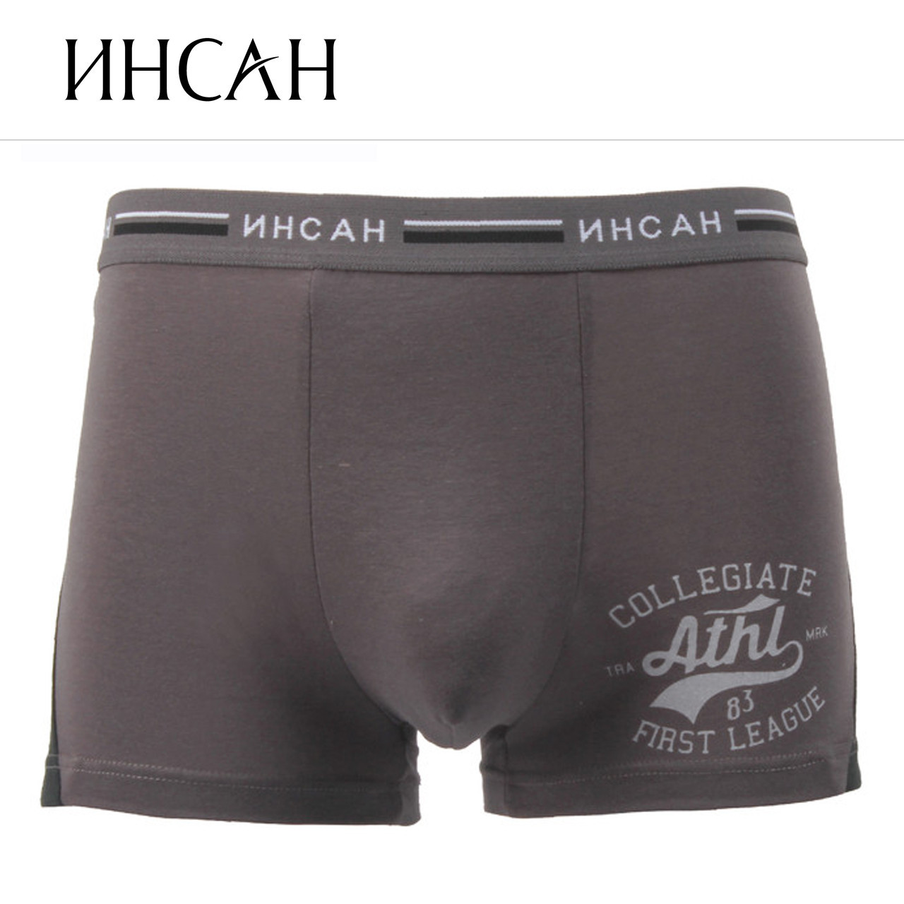 Мужские боксеры стрейчевые  Марка «Инсан» Арт.INS-870