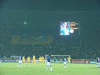 Сетка для футбольных ворот футбольная D.4,5 2,1м. глубина Премиум 2.1