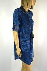 Модные джинсовые платья, фото 2