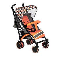 Прогулянкова коляска тростина Babyhit Rainbow Orange Diamond
