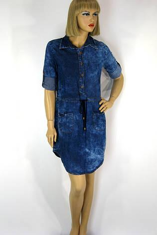 Модные джинсовые платья  купити по доступній ціні у