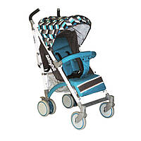 Прогулянкова коляска тростина Babyhit Rainbow Blue Diamond