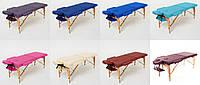 Массажный стол 2-х сегментный RelaxLine Lagune, кушетка деревянная, стол для массажа