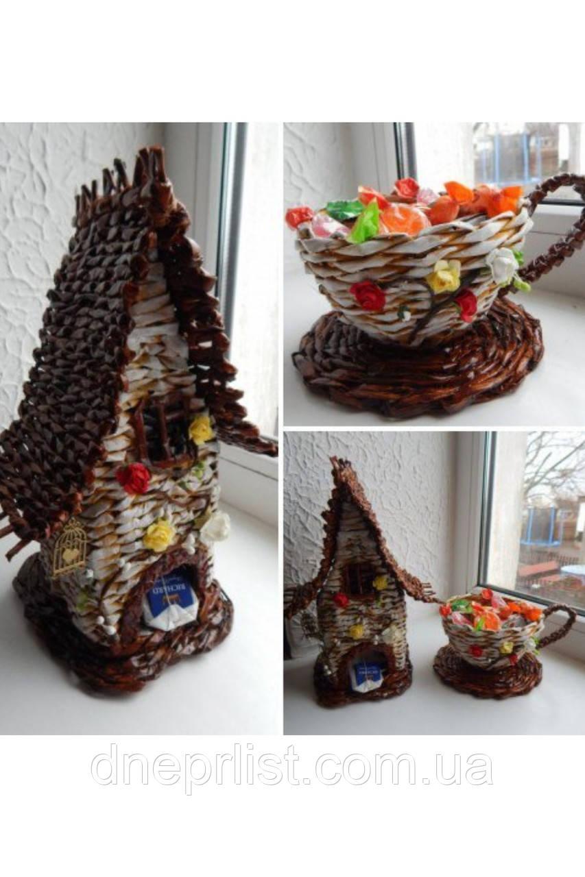 Домик для хранения чайных пакетиков, 30 см