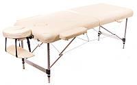 Масажний стіл алюмінієвий 2-х сегментний RelaxLine Sirius кушетка масажна для масажу, фото 1
