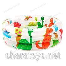 """Детский надувной бассейн  """"Динозавр"""""""