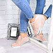 """Кроссовки, кеды, мокасины женские пудровые """"Kensiki"""" эко замша, спортивная, летняя, повседневная обувь, фото 2"""