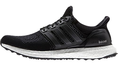 Мужские кроссовки в стиле Adidas Ultra Boost Black/White