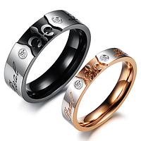 """Кольца для влюбленных """"Корона"""", фото 1"""