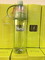 Бутылочка с распылителем New Button 600 мл GREEN