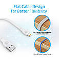 Кабель Promate linkMate-LTS Lightning-USB 0.2 м White, фото 7
