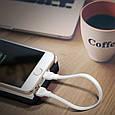 Кабель Promate linkMate-LTS Lightning-USB 0.2 м White, фото 5