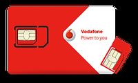Красивый номер Vodafone 0506857776