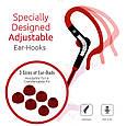 Наушники с микрофоном Promate Snazzy Red, фото 2