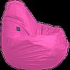 Бескаркасное кресло-мешок Груша Оксфорд размером 90х60 см ТМ Tia-sport Темно-розовый sm-0046