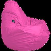 Бескаркасное кресло-мешок Груша Оксфорд размером 90х60 см ТМ Tia-sport Темно-розовый sm-0046, фото 1