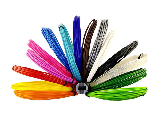 """Набор ПЛА PLA пластика для 3D ручки 15 цветов 75 метров, """"Picasso Mini"""", фото 2"""
