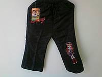 Теплые  брюки  для  девочки