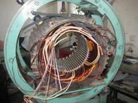 Перемотка крановых электродвигателей