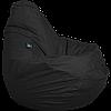 Бескаркасное кресло-мешок Груша Оксфорд ТМ Tia-sport Черный sm-0052
