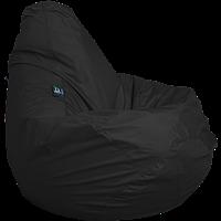 Бескаркасное кресло-мешок Груша Оксфорд ТМ Tia-sport Черный sm-0052, фото 1