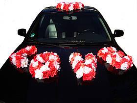 """Свадебные украшения на машину """"LOVE + сердце весна"""""""