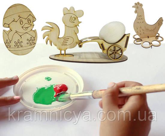 Заготовка пасхальная для творчества из фанеры