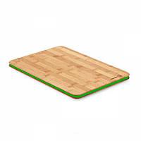 Доска разделочная Korkmaz Maxi 35х25х1.5 см (зеленый)