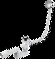Сифон для ванны автомат AlcaPlast A55K (металл)