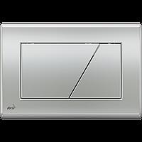 Кнопка управления для скрытых систем инсталляции AlcaPlast M172 (хром-мат)