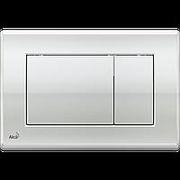 Кнопка управления для скрытых систем инсталляции AlcaPlast M271 (хром-глянец)