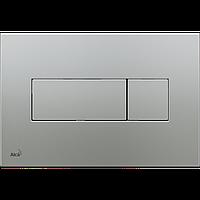 Кнопка управления для скрытых систем инсталляции AlcaPlast M372 (хром-мат)
