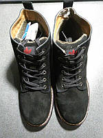 """Ботинки Adidas Ransom Original Boot """"Black"""" С МЕХОМ Арт. 1659 (Брак)"""