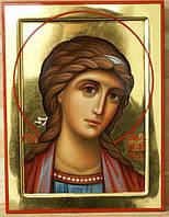 Золочение сусальным золотом икон Святого Ангела Хранителя.