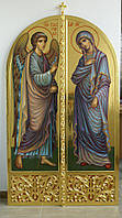 Сусальная позолота икон Царских врат.
