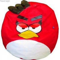 Кресло мешок Kids Angry Birds мяч диаметр 90 см Tia-Sport sm-0075, фото 1