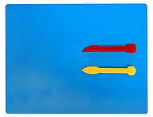 Набор для лепки Досточка и 2 стека Economix (E81187)
